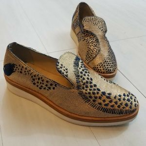 Free People Snake Eyes Loafers Size 9 NEW